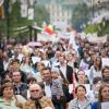 Peste 3000 de persoane au ieșit în stradă, la Iaşi, pentru a susține Familia