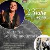 Ioana Crăciunescu, la Roaba de Cultură din parcul Herăstrău