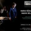 """Maria Răducanu și Maxim Belciug,  la """"Zilele Unteatru"""""""