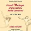 """Mărci poștale aniversare: """"Primul 10 olimpic al gimnasticii, Nadia Comăneci"""""""