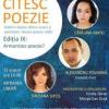 """Cătălina Matei, Alexandru Povarnă și Sînziana Șipoș, la cea de-a noua ediție """"Citesc poezie"""""""
