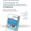 """Emilia David lansează volumul """"Poezia generației '80: intertextualitate și performance"""""""