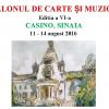 Salonul de carte și muzică de la Sinaia, ediția a VI-a