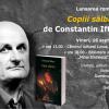 """Constantin Iftime lansează romanul """"Copiii sălbatici"""""""