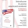 """Lansare de carte, """"Introducere în poezia americană modernă"""" de Serge Fouchreau, la Librăria Open Art"""