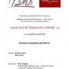 """Colocviile de Traduceri Literare 23: """"Statutul traducătorului literar"""""""