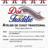 Atelier de cusut tradițional, la Iași