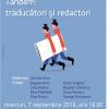 """Dezbaterea """"Tandem: Traducători și redactori"""", la Cărturești Verona"""
