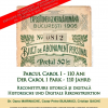 """Conferința și vernisajul expoziției """"Parcul Carol I – 110 ani: reconstituire istorică și digitală"""""""
