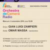 Omar Massa și Orchestra de Cameră Radio, la Sala Radio