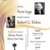 """""""Poezie în Camera din Faţă"""" – ediţia a treia, cu Nora Iuga şi Robert G. Elekes"""