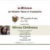 Poeme de Mircea Cărtărescu, în Translation Café