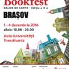 Salonul de carte Bookfest, la Aula Universității Transilvania din Brașov