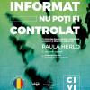 Constituția României le vorbește liceenilor pe limba lor, la Civic Fanbook