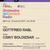 Haydn şi Mozart, cu Orchestra de Cameră Radio, la Sala Radio