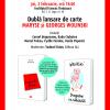 Dublă lansare de carte Maryse și Geroges Wolinski, la București și Timișoara