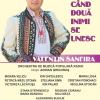 Concert și lansare CD Valentin Sanfira, la Sala Radio