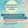 Prokofiev şi Ceaikovski, în programul Orchestrei Naţionale Radio