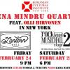 Acorduri românești în limbaj de jazz modern: Elena Mîndru Quartet, la New York