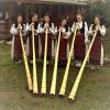 """Grupul de tulnicărese """"MOAŢELE"""" din Câmpeni – Alba, la Carnavalul de la Veneția 2017"""