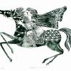 """Expoziţia de grafică """"Una nostalgia indescrivibile"""" a artistului Constantin Udroiu, la Veneția"""