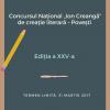 """Concursul Național """"Ion Creangă"""" de creație literară – POVEȘTI"""