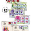 Flori simbol de țară, pe timbrele românești