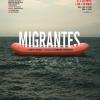 """Matei Vișniec, la premiera spectacolului """"Migrantes"""" de la Teatrul Municipal """"Joaquim Benite"""" din Portugalia"""
