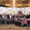 Peste 700 de copii s-au pregătit să întâmpine Paștele prin muzică