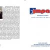 A apărut revista de cultură IMPACT