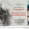 Despre viaţa şi opera lui Giuseppe Tomasi, duce de Palma şi principe de Lampedusa, la Humanitas Cişmigiu