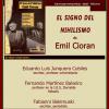 Emil Cioran omagiat de Ateneul din Madrid