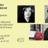 Barbara Korun, Veronika Dintinjana (Slovenia) și Bartosz Radomski (Polonia), la Galeria Întâlnirilor