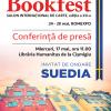 CONFERINŢĂ DE PRESĂ – Cine sunt oaspeţii de onoare ai Bookfest 2017  din partea ţării invitate, SUEDIA