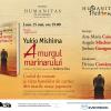 """Seară japoneză dedicată romanului """"Amurgul marinarului"""" de Yukio Mishima, la Librăria Humanitas de la Cişmigiu"""