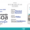 """Lansare de carte şi lectură publică – """"Vecin cu viața. Poezia ortonimă 1911-1935"""" de Fernando Pessoa"""