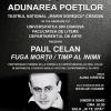 """Spectacolul """"Paul Celan: Fuga morţii / Timp al inimii"""", la Teatrul Național din Craiova"""
