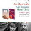 Literary Talk & Reading cu Ana Maria Sandu, Alex Tocilescu și Marius Chivu