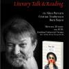 Literary Talk & Reading cu Florin Iaru, la Cărturești Verona