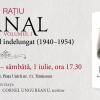 """Lansare de carte la Timișoara: """"Jurnal, volumul I. Începuturile unui exil îndelungat (1940-1945)"""" de Ion Rațiu"""
