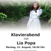 Concert de pian Lia Popa, la Viena