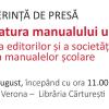 """CONFERINȚĂ DE PRESĂ: """"Dictatura manualului unic"""" – reacția editorilor și a societății civile la criza manualelor școlare"""