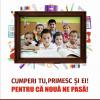 Alexandria Librării și Organizația Salvați Copiii România își reunesc forțele și în 2017: CUMPERI TU, PRIMESC ȘI EI!