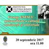 """Expoziţia """"George Enescu – personalitate a culturii româneşti şi universale"""", la Chișinău"""