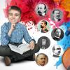 Scriitorul Ciprian Măceşaru le citeşte copiilor într-un proiect co-finanţat de Administraţia Fondului Cultural Român (AFCN)