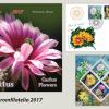 """Fumuseţea florilor de cactus ilustrată în noua emisiune filatelică """"Flori de cactus"""""""