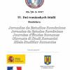 Limba şi literatura română, la Zilele Studiilor Romanice de la Universitatea Comenius, Bratislava