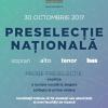 """Corul Național de Cameră """"Madrigal – Marin Constantin"""" organizează  o preselecție națională pentru artiști lirici"""