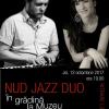 Nud Jazz Duo în grădină la Muzeu