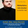 Diaconul Ionuț Mavrichi, oaspete al Zilelor Pro Vita Iași